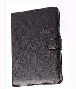 Etui universel style porte document en aspect cuir noir pour tablette Asus Transformer Book T90 Chi - fermeture magnétique - Garantie 5 ans - DURAGADGET