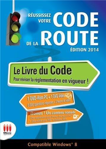 Réussissez votre code de la route : Edition 2014 (2DVD) de Micro Application (2013) Reliure inconnue