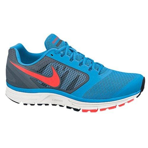 Nike Zoom Vomero+ 8, Scarpe da Corsa Uomo, Blu/Nero/Rosso (Bl HR/ATMC Rd-Dk Armry Bl-Smmt-), 45 EU