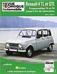 Rta Renault 4 TL et GTL : Fourgonnett...