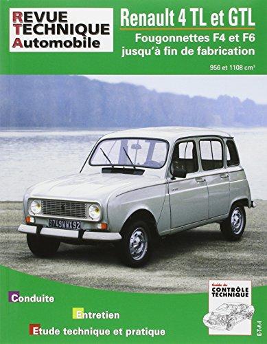 Rta Renault 4 TL et GTL