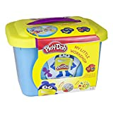 Play-Doh My Little Workshop with Storage Box, Modeling Clay, Stools, Pencils and Colouring Book