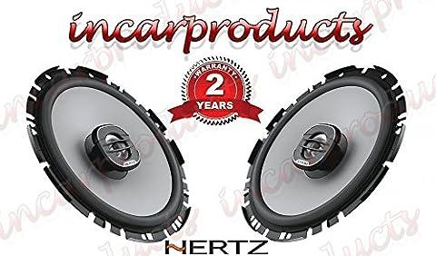 Hertz Uno X 170cm 170cm 17cm Koaxial 2-Wege Auto Audio Stereo-Lautsprecher 200W