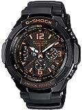 G-Shock Men's Quartz Watch with Black Dial Analogue Display and Black Resin Strap GW-3000B-1AER