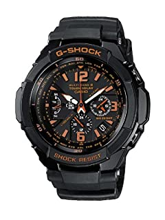 CASIO G-Shock Gravity Defier GW-3000B-1AER - Reloj de Caballero de Cuarzo, Correa de Resina Color Negro (con Radio, cronómetro, luz) (B0039YOHVW) | Amazon price tracker / tracking, Amazon price history charts, Amazon price watches, Amazon price drop alerts