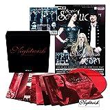 """Sonic Seducer 04-2018: + """"Red Passion"""" 8 x 7""""-Vinylsingle Box (auf 499 Exemplare limitiert, rotes Vinyl) + Sonic Seducer 04-2018 mit Nightwish Titelstory + weitere CD mit 17 Tracks u.a. von Auri"""
