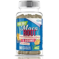 Forza Maca Root Capsules, Pack Of 90
