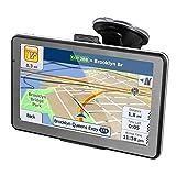 """7"""" GPS Automatique de Voiture Moto 16GB, X-EUCO Android Système d'Operation 4.4.2, Appareil de Navigation Écran HD Tactile, Intégrer Le Système des Instructions Vocales, Multi-Languages"""