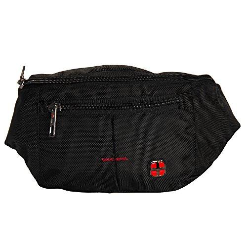 Longtime Kollektion Passenger Hip Bag - Cleveland Gürteltasche schwarz aus Canvas -
