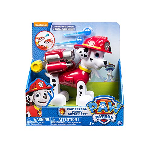 Paw Patrol Jumbo Sized Action Pup Marshall