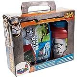 p:os 24939 Pausenset Disney Star Wars, 2 teiliges Set im Geschenkkarton