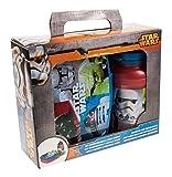 p:os 24939 Disney Star Wars Pausenset, 2 teiliges Set im Geschenkkarton