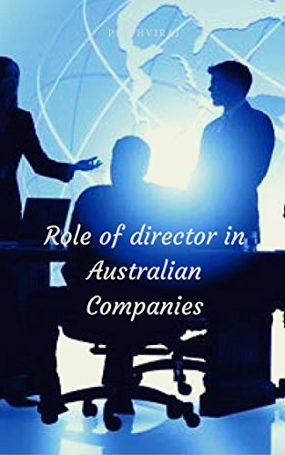 role-of-director-in-australian-companies-english-edition