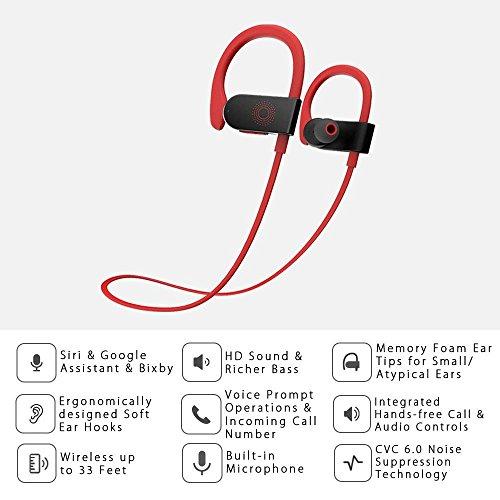 Recensione dodocool Auricolare In Ear Wireless Sensibile al Tocco ... 1b1adbe90e91