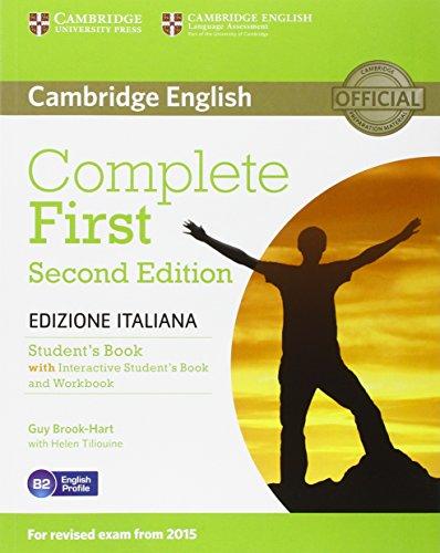 Complete first. Student's book. Without answers. Per le Scuole superiori. Con e-book. Con espansione online