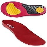 FootActive WORKMATE - Ideal für Alltag und Beruf - Schützt Ihre Füße auf harten Oberflächen, Rot, 42 - 43 (Medium)