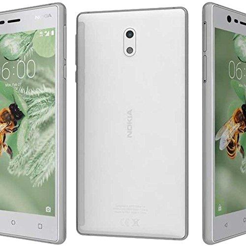 """Nokia 3 Single SIM 4G 16GB Copper,White - Smartphones (12.7 cm (5""""), 16 GB, 8 MP, Android, 7.0 Nougat, Copper, White)"""