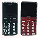 Best Basic Cell Phones - Sonica CE0168 Big Button Basic Senior Mobile Cell Review