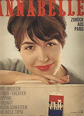 ANNABELLE, Frühling 1961. Slim look und befreite Taille. (Annabelle Frühling)