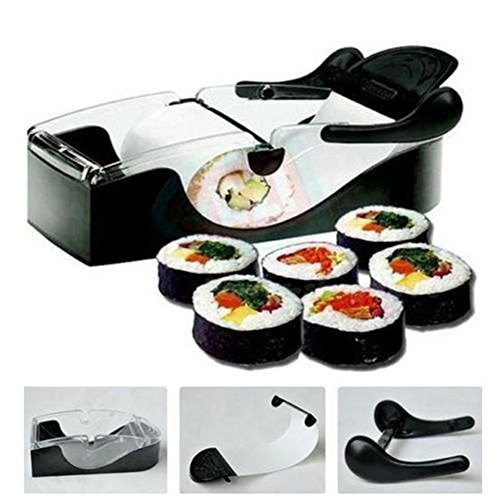Sweety House Perfekte Rolle DIY leicht Küche Magic Roller Sushi Maker Cutter Gadget Maschine UK (Pasta-maker, Elektrische)