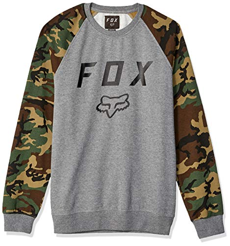 Fox Pullover Legacy Heather Graphite Xl Silhouette Pullover Hoodie