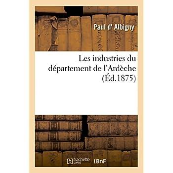 Les industries du département de l'Ardèche