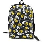sghshsgh Zaino Scuola,Zaini e borse sportive,Travel Backpack Laptop Backpack Large Diaper Bag - Bumblebee Backpack School Backpack for Women & Men Hiking cool duffle bag