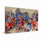 Leinwand American Football 120x80cm, Special-Edition Wandbild