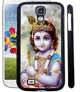 ColourCraft Lord Krishna Design Back Case Cover for SAMSUNG GALAXY S4 I9500 / I9505