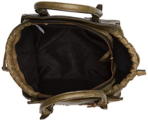 Bulaggi - Izaks Handbag, cartella Donna Verde (Khaki)