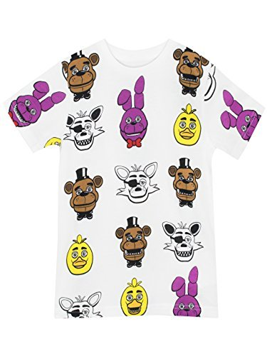 FIVE NIGHTS AT FREDDY'S Boys FNAF T-Shirt Age 7 To 8 Years