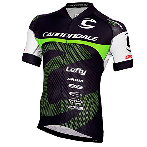 Strgao 2016 Herren Radtrikot Shirt Kurzarm Pro Team Cannondale MTB Radfahren Top Radshirt Atmungsaktiv Durchgehender Rei?verschluss -