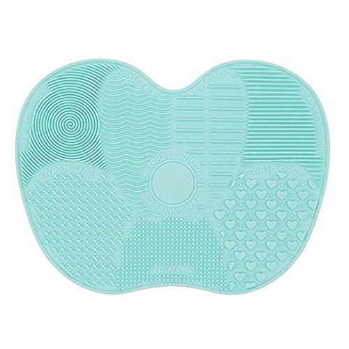 LUFA Silicon Portable Maquillage Brosse Nettoyant Mat Cleaner Pad Cosmétique Brush Nettoyage Mat Machine de lavage Scrubber