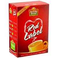 Brooke Bond Red Label Black Loose Tea, 200 gm
