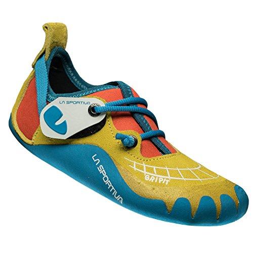 La Sportiva Gripit - Pies de Gato Niños - Amarillo/Naranja Talla del Calzado 31/32 2019