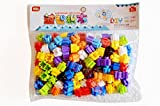 #2: Vibgyor Vibes Do It Yourself (DIY) Magic Building Kit/Blocks- Colourful Plastic Connector Set in Granules Shape. Innovative Shapes and Designs Can be Made.
