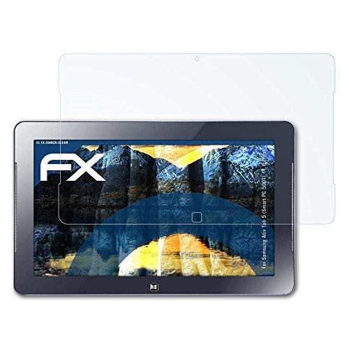atFolix Schutzfolie kompatibel mit Samsung Ativ Tab 5 (Smart PC 500T) 11.6 Inch Panzerfolie, ultraklare und stoßdämpfende FX Folie (2X) - Samsung Pc 500t Smart