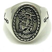 Anello da uomo in Argento 925 Veliero Ancora R001597