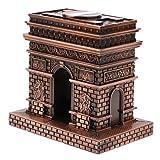 D DOLITY Vintag Metall Modell Architektur Gebäude Statue Modell Handwerk Wohnkultur - Triumphbogen