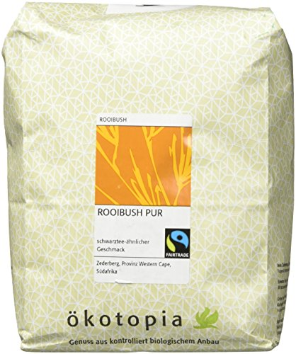 Ökotopia Roibusch Tee Rooibush pur, 1er Pack (1 x 1000 g)