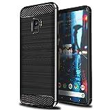 Samsung Galaxy J8 2018 Housse [Scott-FR] Etui Housse Coque de Protection [Fibre de...