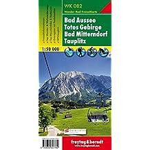Carte de randonnée : Totes Gebirge, Windischgarsten, Tauplitz, Liezen
