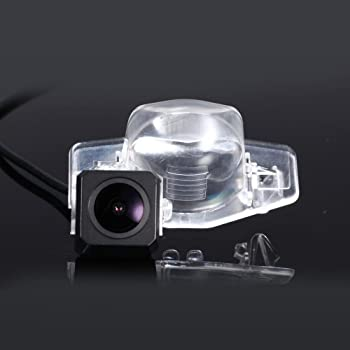 FEELDO Car CCD Rear View Camera With LED For Honda Accord//Pilot//Civic//Odyssey Reversing Backup Camera