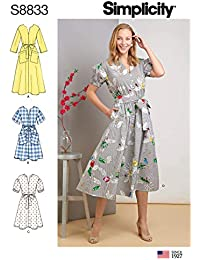 25c1172c8b96 Simplicity US8833H5 S8833 - Cartamodello per vestitino Miss Petite