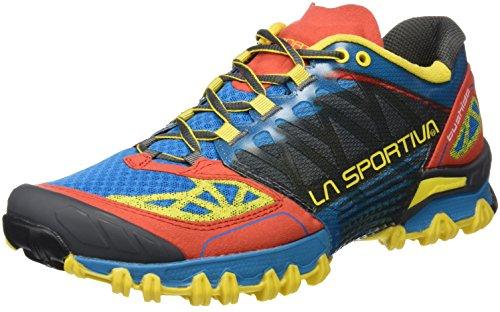 La Sportiva , Chaussures de course pour homme noir bleu/rouge