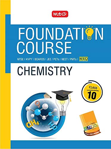 Chemistry Foundation Course for JEE/NEET/Olympiad Class : 10