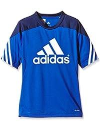 adidas Sereno 14 Training Jersey Camiseta, Niños, Azul / Blanco, 140