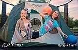 JumpSport Trampolin-Zelt, sicheres Sicherheits-Design, Riesengröße 27,9 cm, 14 cm hoch, Trampolin, Hüpfhaus oder EIN Hinterhofcampout, AlleyOOP Outback BigTop Zelt-Optionen