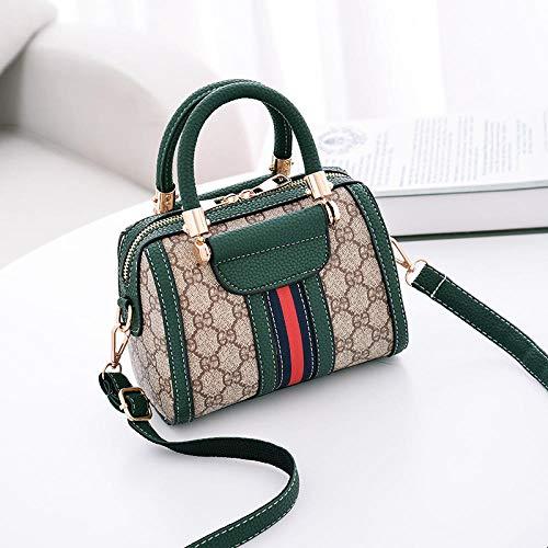 Fyyzg Europa und Amerika Damen Handtaschen Mode lässig Damen Tasche Schulter Diagonale Paket -69 grün