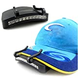 Buckdirect Worldwide ltd. 11 LED-Clip-On-Licht-Lampe Wandern Camping Angeln Outdoor-Kopfleuchten